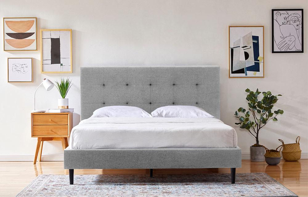 Bedframe Pebble Image 1
