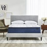 Best Hybrid Mattress Canada in decorated bedroom